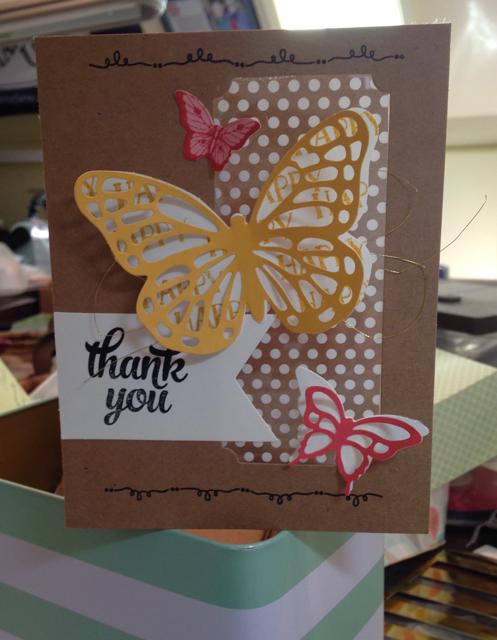 Polka Dots & Butterflies