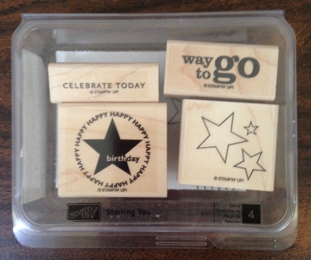 Starring You, set of 4 stamps, originally $13.95