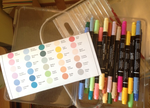 Retired Stampin' Write Markers