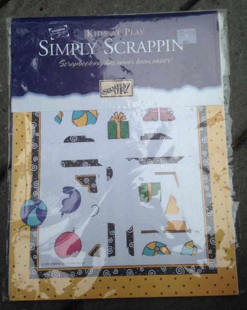 Simply Scrappin' Kit: Kids at Play