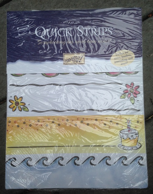 Simply Scrappin': Quick Strips