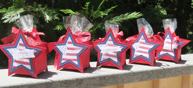 Stars 'n' Stripes Treat Box