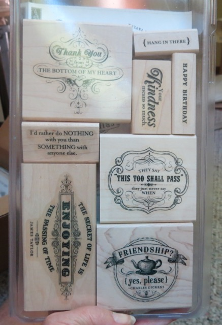 From the Heart, set of 8 stamps, retired 2015