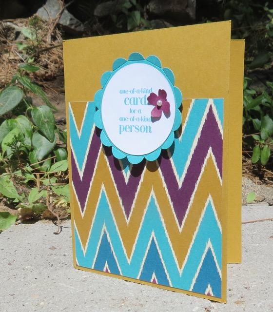 Bohemian Designer Series Paper and a bit of cheer