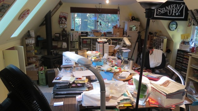 My out of control Country Loft Stampin Studio
