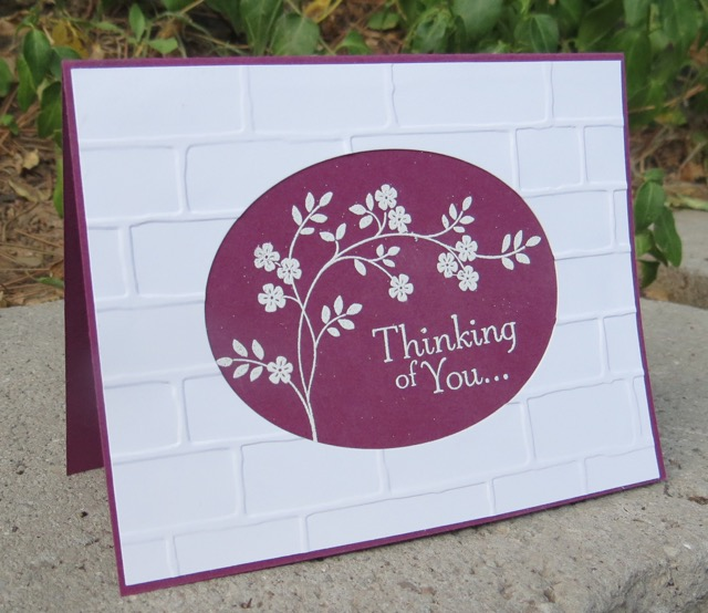 Thoughts & Prayers Thinking of You card