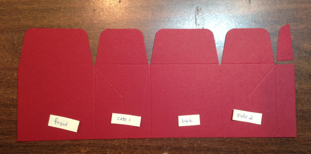 Step by step for SU! Gift Bag Punch Board (135862, $20)