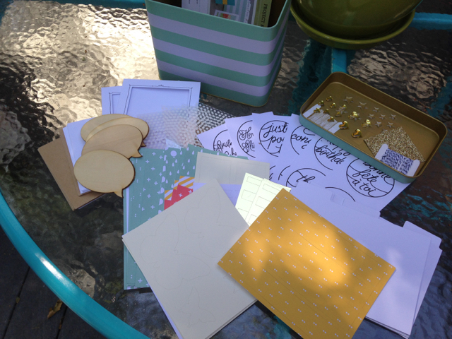 Tin of Cards Project Kit, 138378, $27.00