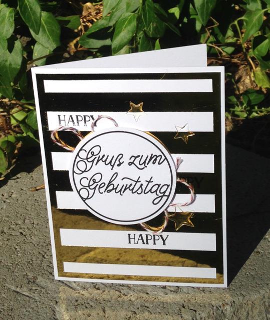 Jutta's Geburstag card