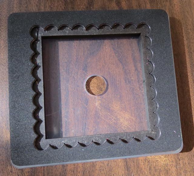 Scallop SquareBigz Clear Die, originally $21.95