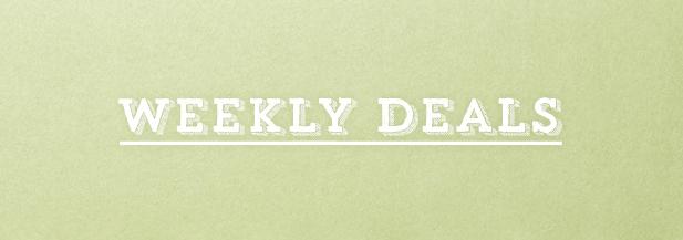 WEEKLY DEALS, JUNE 9-15, 2015