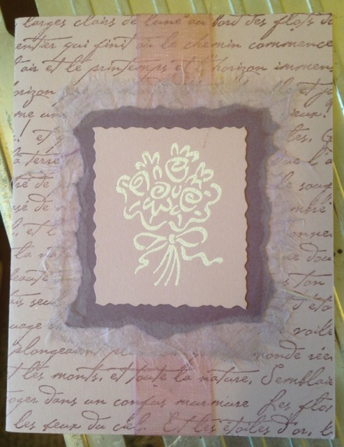 Wedding invitation circa 2000