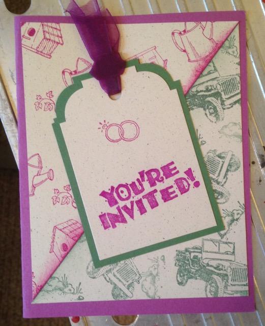 25th anniversary party invitation