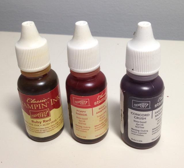 Concord Crush, Poppy Parade SU! Classic Ink Refills