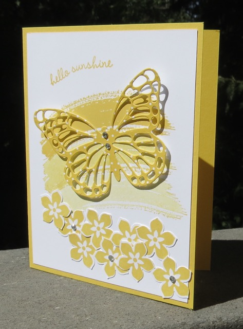 Butterflies Thinlit (137360) card