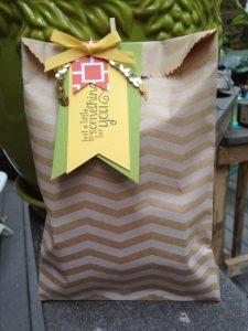 Stampin' Up! Embellished Gift Bag