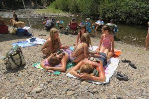 hot rock massages by Gen III girls