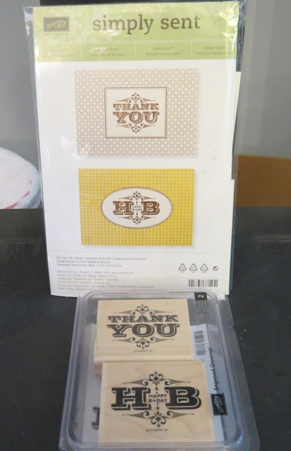SU! Thank You / Happy Birthday Stamp set and coordinating cards