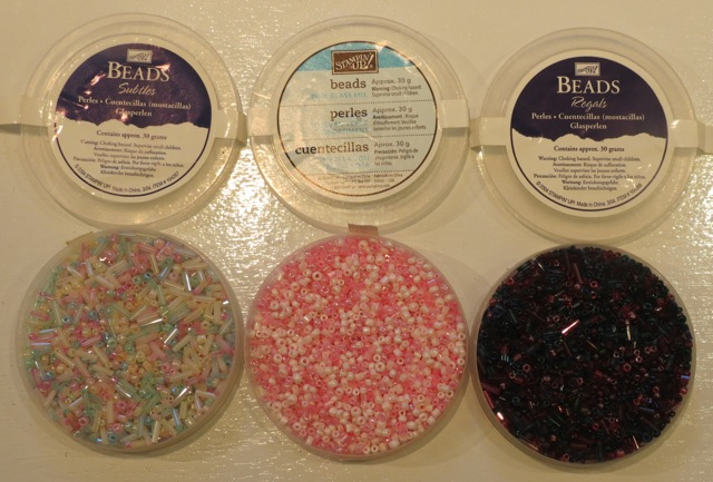 3 packages SU! beads