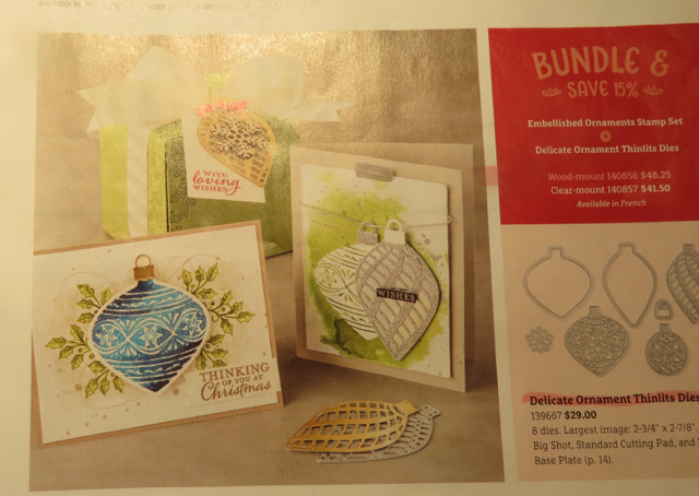 Page 15, 2015 Home for the Holidays Holiday Catalog, Stampin' Up!