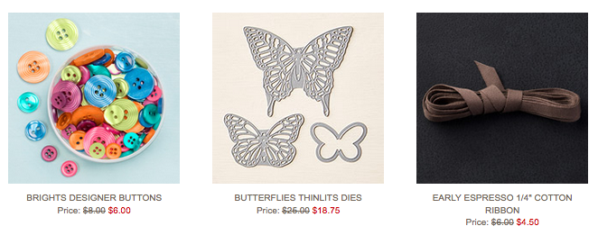 Stampin' Up!'s Weekly Deals, September 15, 2015