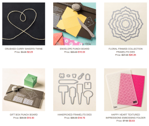 Sept 29th Weekly Deals from Stampin' Up! Got hearts?