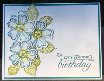 Birthday Blossoms (139167-w; 139471-c)
