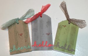 """Final Product: 2"""" x 4"""" purse or pocket sized notebooklets"""