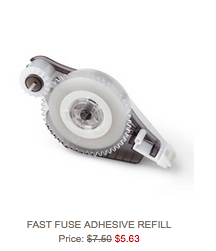 Fast Fuse refills on sale Oct 6-12, 2015