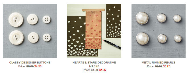 Stampin' Up!'s Weekly Deals Oct 13-19, 2015