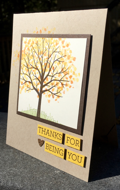 Thanks for Being You, Sheltering Tree (137163)