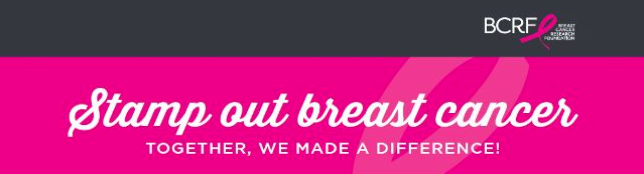 Help Stamp Out Breast Cancer