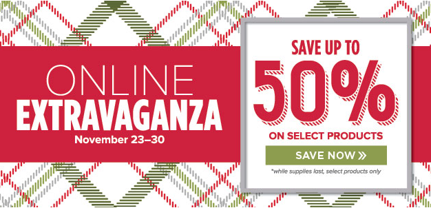 Online Extravaganza, 23-30 November 2015