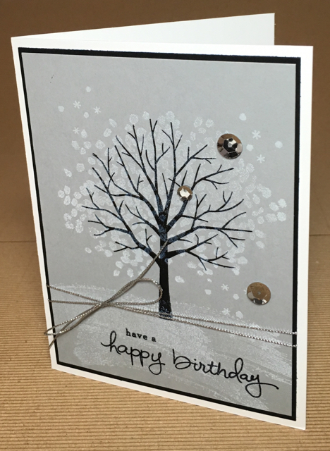 Sheltering Tree (137163) Birthday card