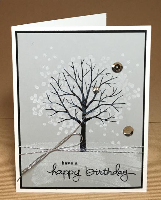 Sheltering Tree (137163) Birthday card