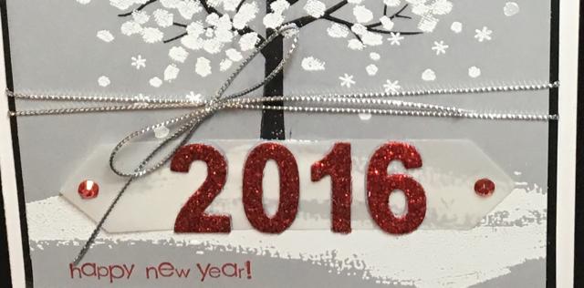 Sheltering Tree (137163) Happy New Year card