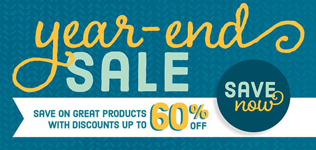 Stampin' Up!'s year end Sale starts today, December 10, 2015
