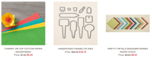 December 15-21, 2015 Weekly Deals from Stampin' Up!