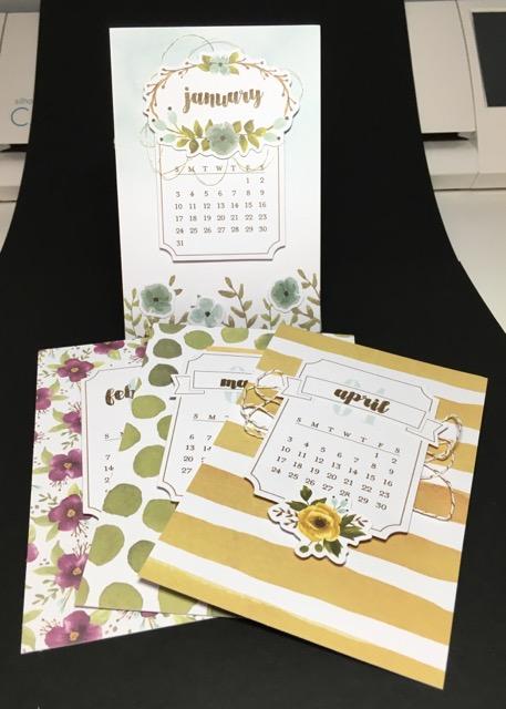 December Paper Pumpkin calendar