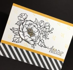 Birthday Blooms (140658-photopolymer), 2016 Occasions Catalog, Stampin' Up!