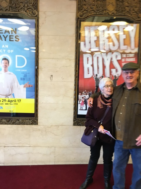 Blythe & Russ at the Orpheum Theater/San Francisco