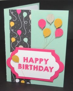 Party Wishes stamp set, Stampin' Up!, 140651-w, 140961-c
