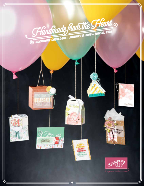2016 Stampin Up Occasions Catalog