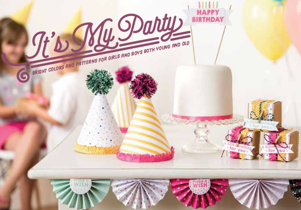 It's My Party Suite, SU! 2016 Occasions Catalog