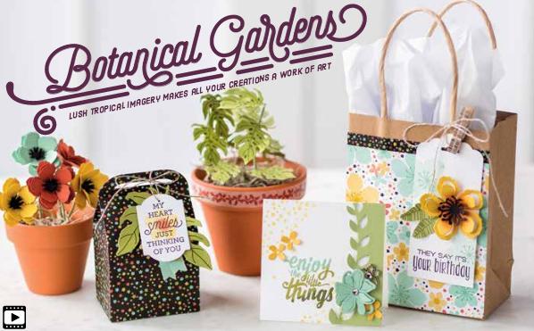 Botanical Gardens Suite, SU! 2016 Occasions Catalog