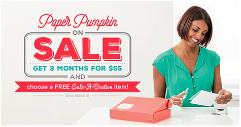 Paper Pumpkin Sale-a-Bration benefits
