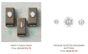 Weekly Deals from Stampin' Up!, 19-25 January 2016
