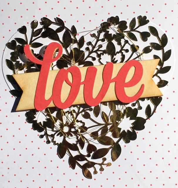 LOVE from the Enjoy the Little Things Project Kit, (140587), $28