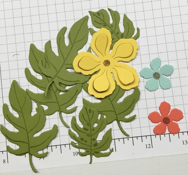 Botanical Blooms stamp set, 140757