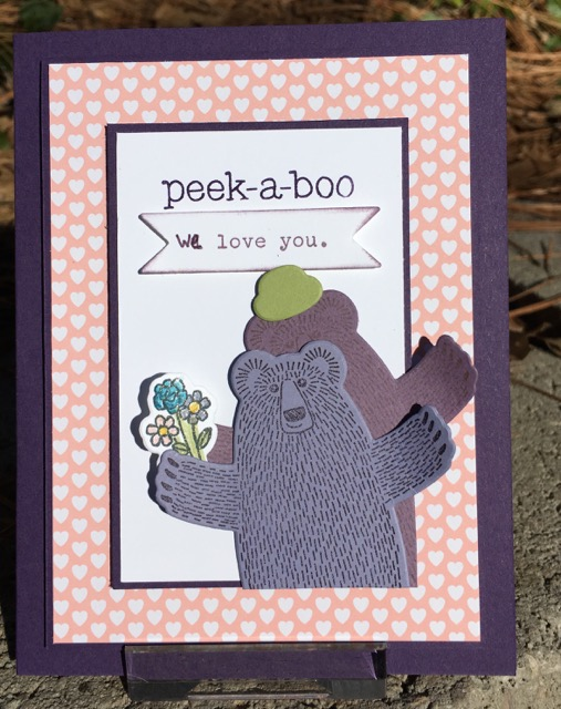 Bear Hugs Stamp Set, Stampin' Up!, 139543
